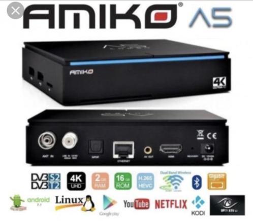 Amiko A5 4K UHD Combo