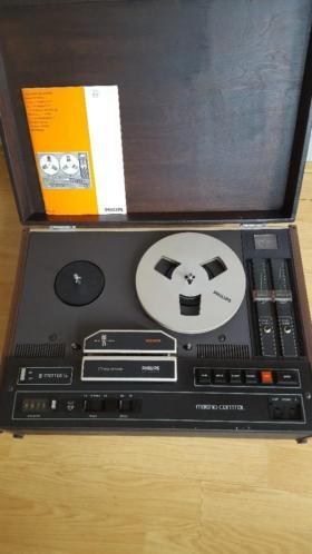 Bandrecorder Philips met 7 banden