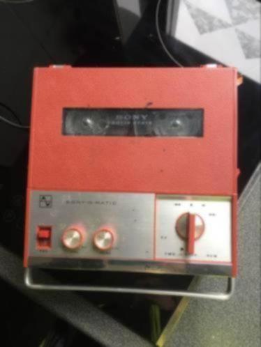 Sony o Matic TC900 portable taperecorder player bandrecorder