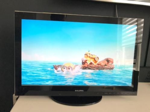 "tk:Salora TV van 24"" met DVD speler en HDMI , Full HD"