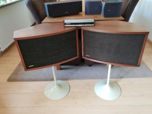 Bose 901 type 4 / equalizer/ 2 speakers/ 2 standaards