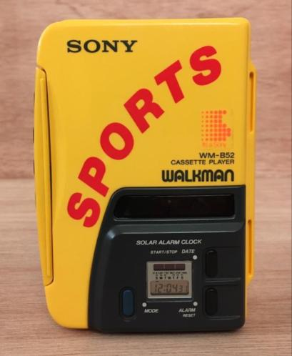 Vintage Sony Sports Walkman WM-B52 Jaren 80