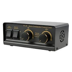 Luidspreker schakelaar en regelaar volume / speaker switch