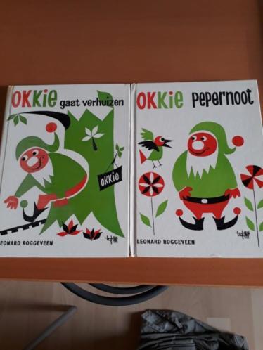 Okki Pepernoot boekjes, 2 stuks.