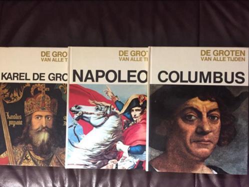 De groten van alle tijden Karel de Grote, napoleon, Columbus