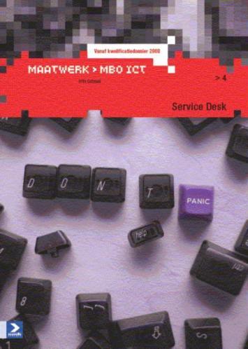 Maatwerk MBO ICT Service Service Desk druk 4 9789039526217