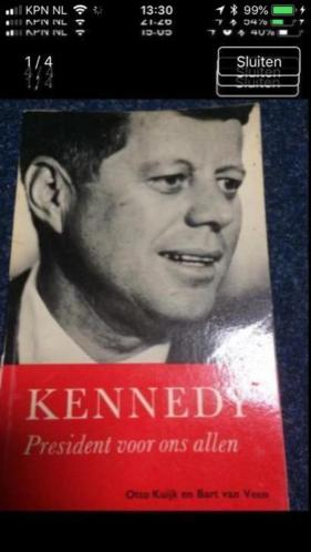Kennedy boek president van Amerika jaren 50 60