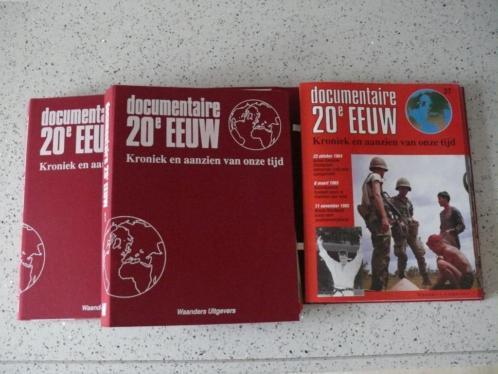 Documentaire 20e eeuw, 52 Tijdschriften in 3 mappen Compleet