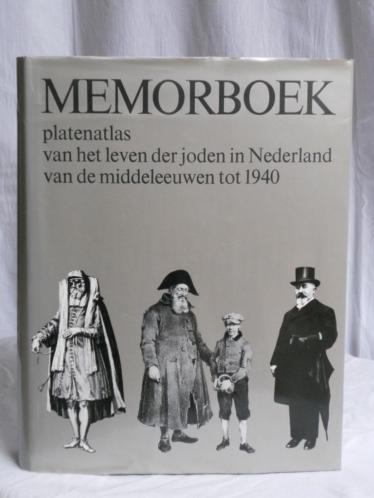 MEMORBOEK, geschiedenis v.h. leven der joden in Nederland