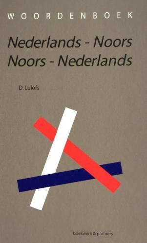Woordenboek Nederlands Noors Noors Nederlands 9789054022473
