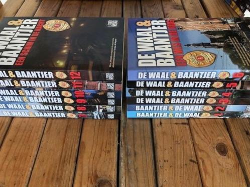 De Waal & Baantjer Boekenserie 1 t/m 12