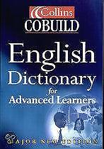 Collins Cobuild English Dictionary For Advance 9780007102013