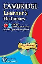 Cambridge Learners Dictionary With Cd Rom 9780521682022