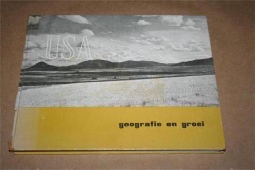 USA - Geografie en groei - 1952 !!