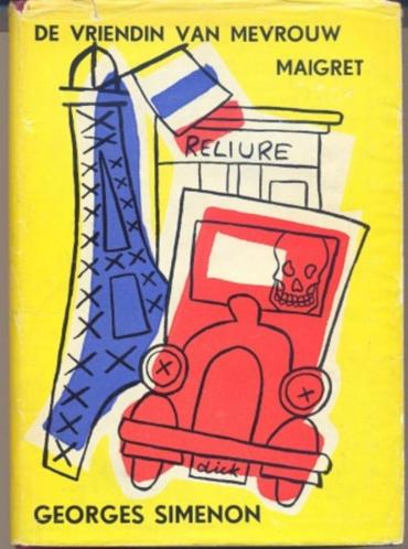 Georges Simenon = De vriendin van mevrouw Maigret.