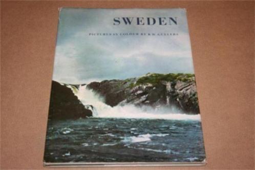 Oud fotoboek van Zweden - 1954 !!