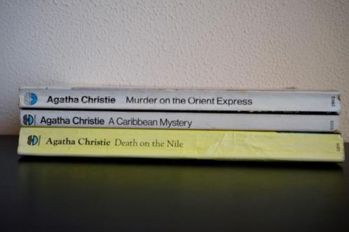 3 detectives van Agatha Christie (in het Engels)