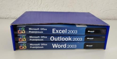 MS Office Outlook, Exel en Word 2003, Step by Step