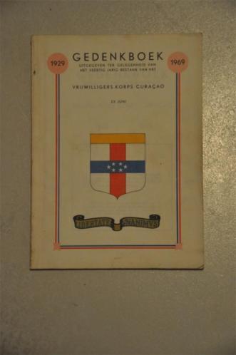 Gedenkboek Vrijwilligers Korps Curacao (VKC)