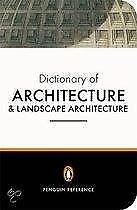 The Penguin Dictionary of Architecture and Lan 9780140513233