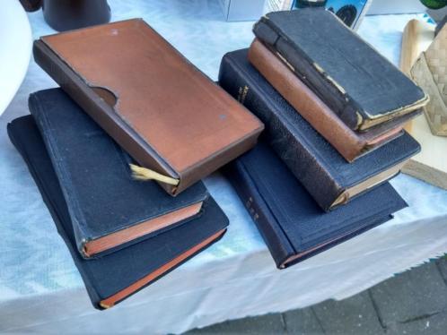 Bijbel, antieke misboekjes, catechismus