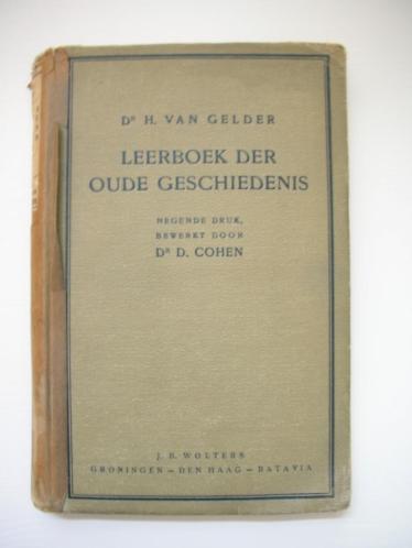 H. v Gelder, D. Cohen, Leerboek der oude geschiedenis, 1933