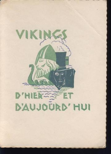 Vikings d'hier et d'aujourd'hui; 1930