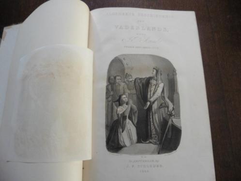 Algemeene gesch.der Vaderlands 2 e deel 3e stuk1846 JP Arend