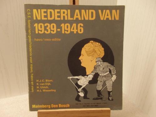 Lesboek - Nederland van 1939-1946. Boek heeft 72 pagina's en