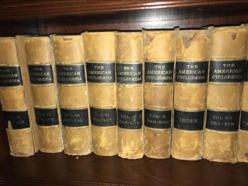 The American Cyclopaedia A popular Dictionarg of general Kno