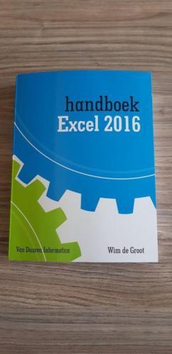 Handboek Excel 2016 Wim de Groot