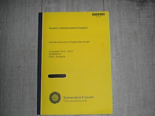 Studie boek Geschiedenis Historie