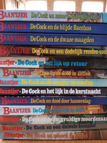 Baantjer boeken