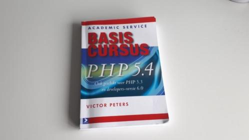 Basiscursus PHP 5.4