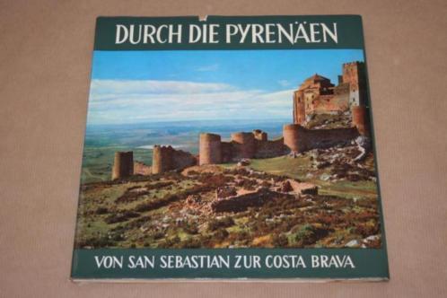 Prachtig oud fotoboek over de Pyreneeën - 1961 !!