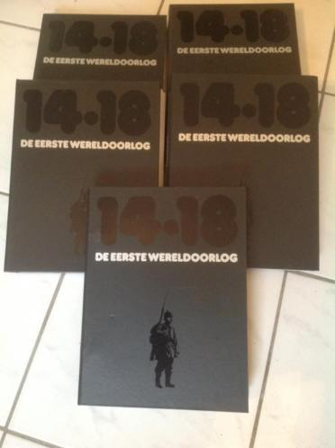 Serie Eerste Wereldoorlog 14-18 5 banden 100 jaar op 11-11!