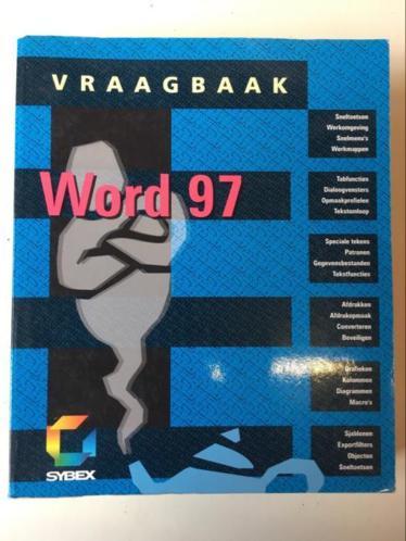 Boek Word 97