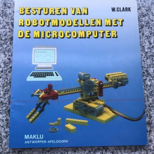 Besturen van robotmodellen met de microcomputer - Lego
