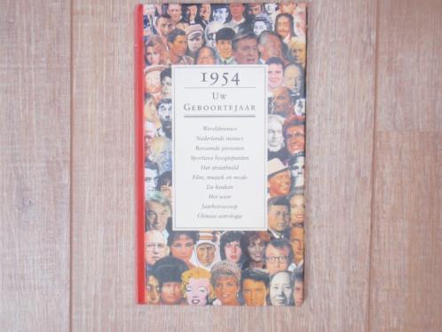 Boek over 1954 Verjaardag