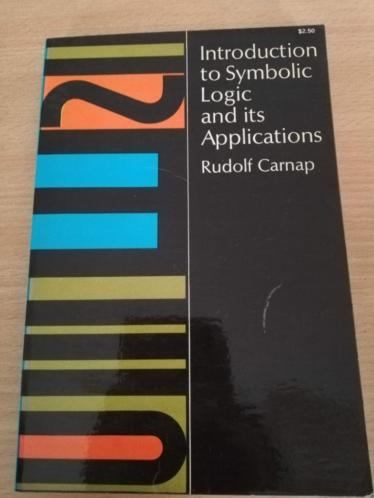 Introduction to Symbolic Logic and its Applications (Carnap)