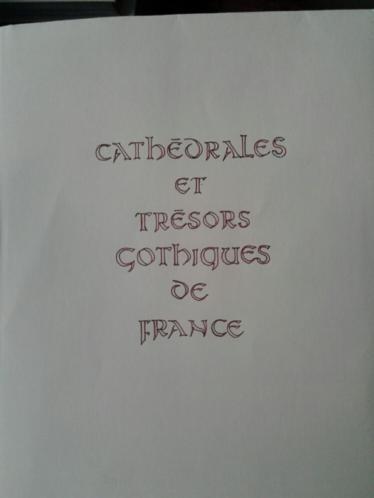 Cathedrales et tremor gothiques de Francesco, M.Aubert