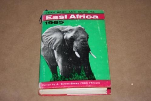 Yearbook and guide to East Africa - 1965 !!