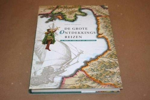 Fraai groot boek - De Grote Ontdekkingsreizen !!