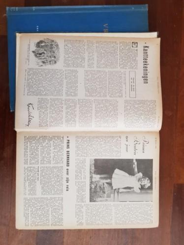 2 boeken Vrij Nederland 1940-41 en 1944
