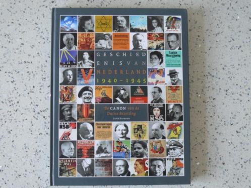 Geschiedenis van Nederland 1940-1945 van David Barnouw