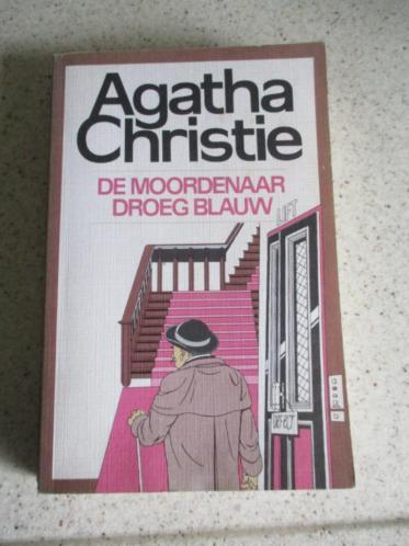 De moordenaar droeg blauw, Agatha Christie