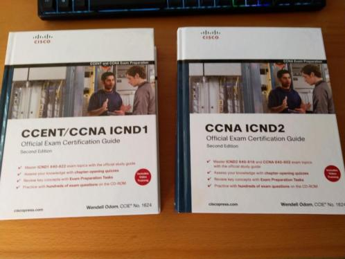 Originele Cisco CCNA Exam guides ICND1 and ICND2