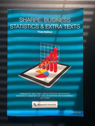 Pearson SHARPE Business Statistics (HBO/WO ICT/Informatica)