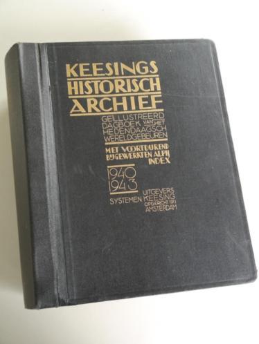 Keesings historisch archief 1940-1943