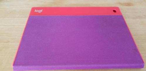 Logi case voor iPad air ..... 9.7 .... rood/paars ..